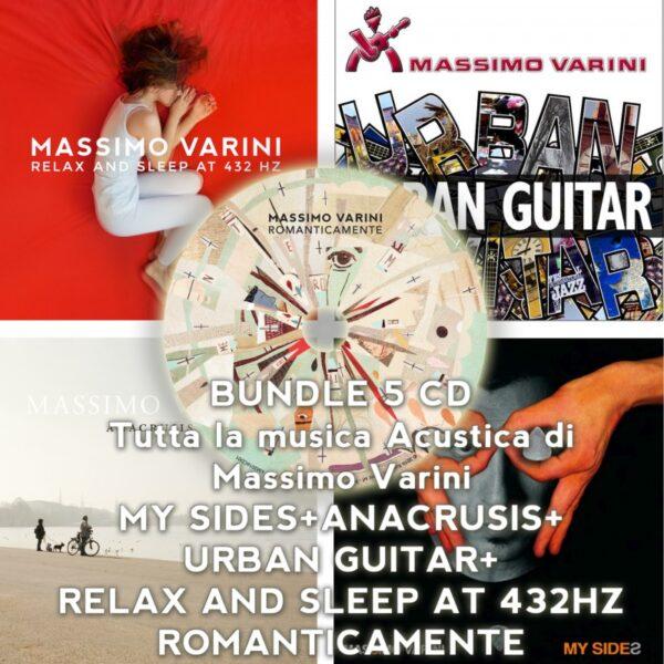 Tutta la musica acustica di Massimo Varini - 5 CD