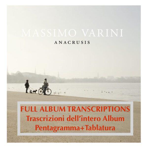 ANACRUSIS Full Album Transcriptions trascrizioni