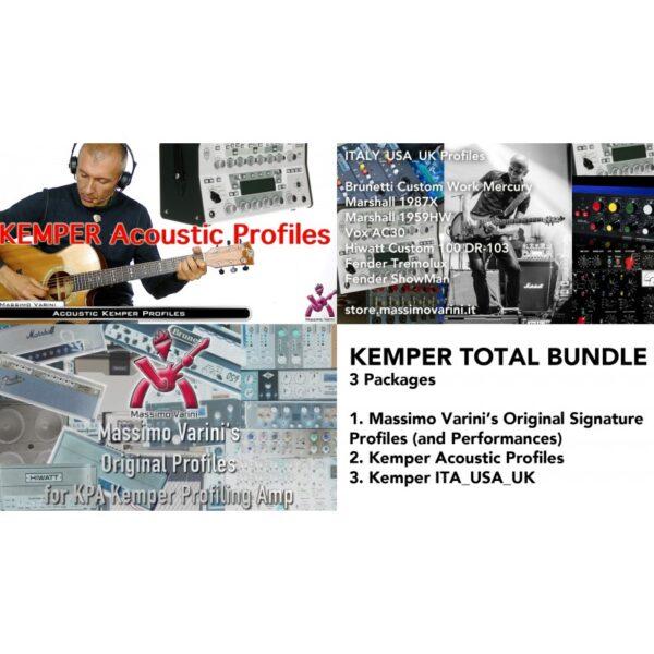 TOTAL BUNDLE KPA Kemper Profiles - Massimo Varini