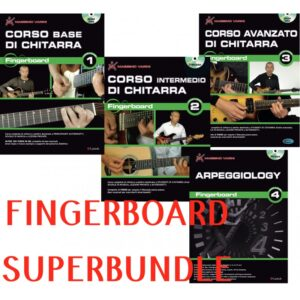 Fingerboard Superbundle tutta la collana volumi 1 2 3 e 4 DVD
