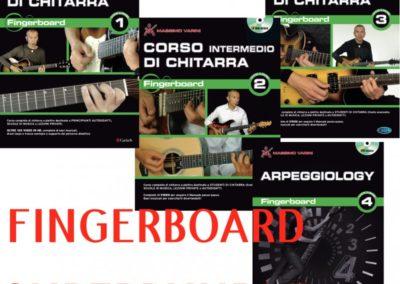 Fingerboard Superbundle tutta la collana volumi 1 2 3 e 4 DVD