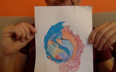 Un disegno da colorare, per colorare i nostri giorni!